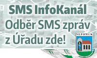SMS InfoKanál města Nepomuk