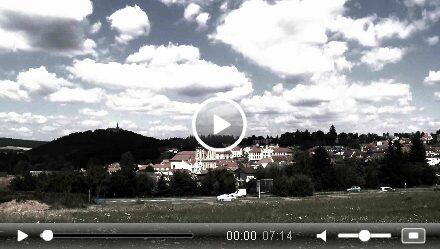 Město Nepomuk – video